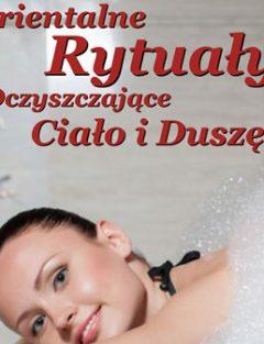 Dziewczyna podczas masażu pianą Białystok