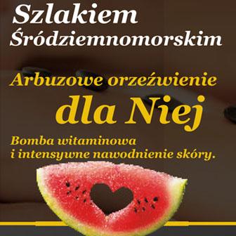 Dla niej produkt SPA arbuzowego orzeźwienia Białystok