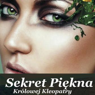 Oferta zabiegu sekret piękna królowej Kleopatry w SPA Białystok