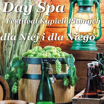 Day SPA oferta festiwal kąpieli piwnych Białystok