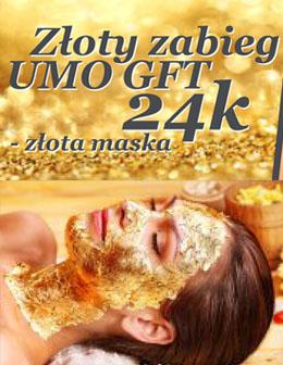 Złoty Zabieg UMO GFT 24k Złota Maska